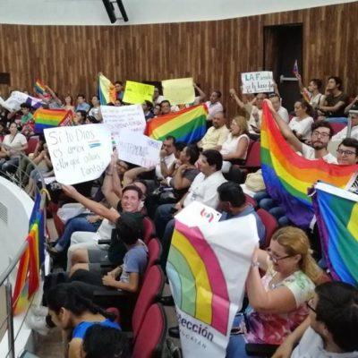 Revelan votación 'secreta' respecto a matrimonio igualitario en Congreso yucateco; la tachan de irregular