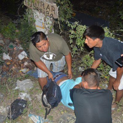 DEJAN AL PUEBLO SIN COBERTURA DE EMERGENCIA: Fallece hombre arrollado en In House luego de agonizar por más de 20 minutos sin que una ambulancia llegara en su auxilio