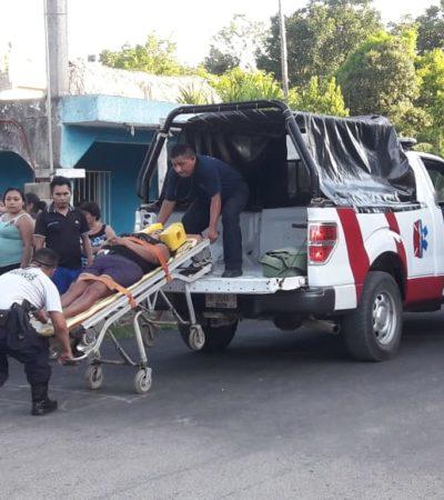 Automovilista arrolla a dos mujeres en moto en JMM y arrastra su vehículo seis cuadras