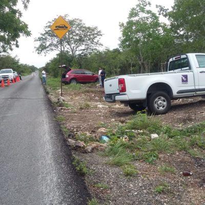 """Empleado de Diconsa denuncia asalto en la carretera para despojarlo de 70 mil pesos; la policía dice que """"no es muy creíble"""" su versión"""