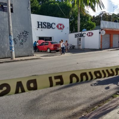 Balean a cuentahabiente durante asalto en Felipe Carrillo Puerto