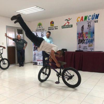 Realizarán rodada y competencia de ciclismo BMX en Cancún