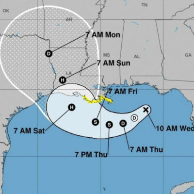 Nace el primer huracán de la temporada en el Golfo de México; lo llaman 'Barry' e iría hacia EU