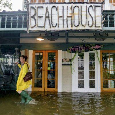 FOTOS | Llega Barry llega a Nueva Orleans; amenaza con provocar inundaciones devastadoras