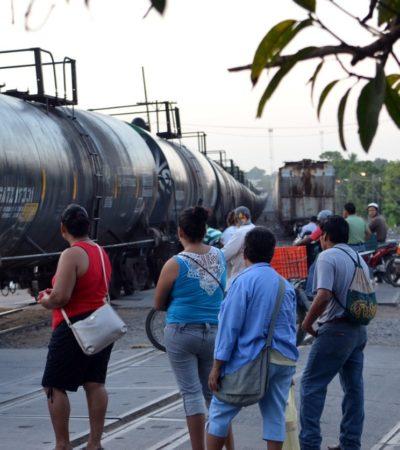 SIN ESPERANZA DE CRUZAR A EU: Optan migrantes por retornar al sur montados en 'La Bestia'