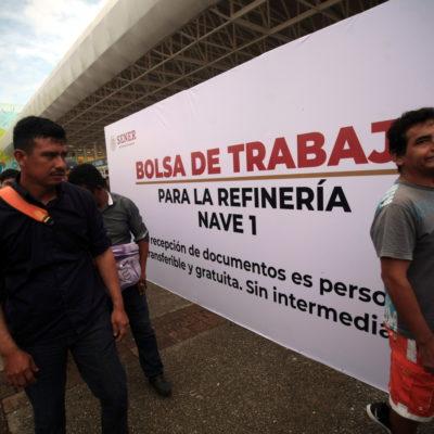 Disputan Dos Bocas al menos 70 sindicatos… a un día de que arranquen trabajos de construcción