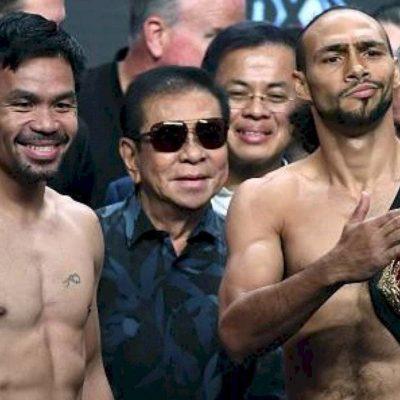 Manny Pacquiao y Keith Thurman se declaran listos para enfrentarse este sábado