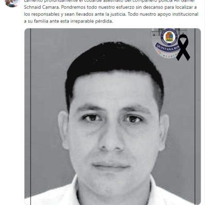 Lamenta Alberto Capella asesinato de policía ministerial y asegura que pondrán todo su esfuerzo para dar con los responsables