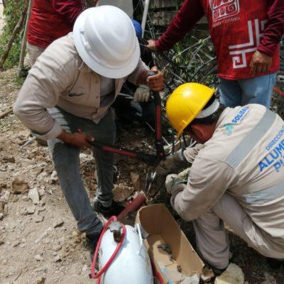 CFE accede a reinstalar el servicio de electricidad en Cristo Rey, después de tres semanas de protestas