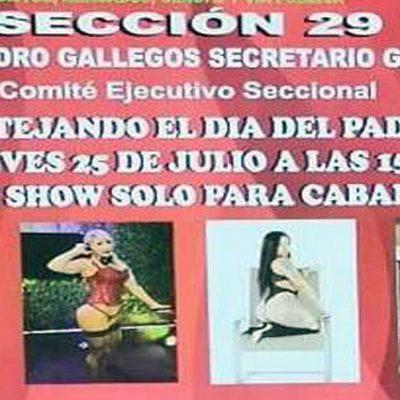 Festejará líder con show erótico a padres sindicalizados del gobierno de la CDMX