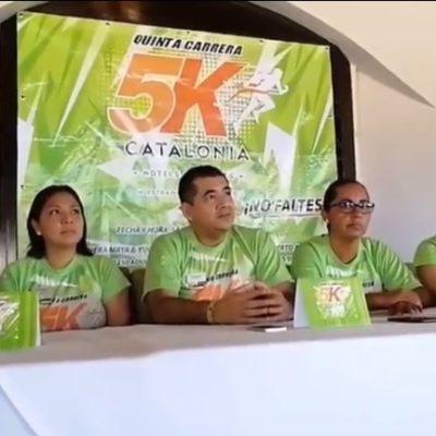 Anuncian la carrera Catalonia 5K que recaudará fondos para niños con enfermedades graves en Puerto Aventuras