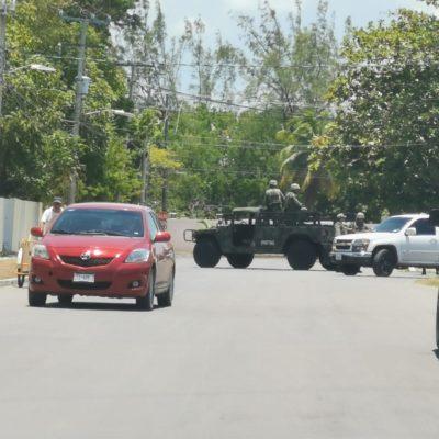 Catean Fiscalía y Ejército domicilio en Chetumal