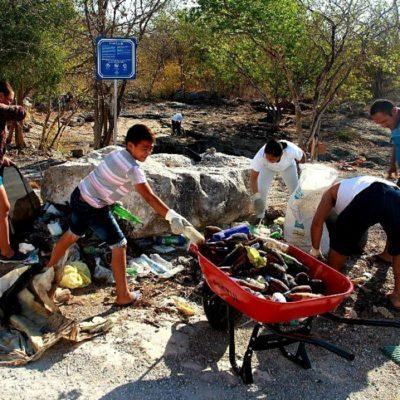 Reportan basura y materia fecal en al menos el 60% de los cenotes de Yucatán