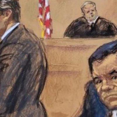 Rechaza juez repetir juicio contra 'El Chapo'; dictará sentencia el 17 de julio