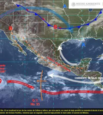 Se mantienen altas temperaturas con posibilidad de tormentas y chubascos en Quintana Roo