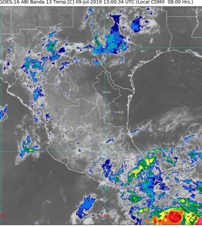 PRONÓSTICO DEL CLIMA: Sensación térmica hoy será de hasta 45 grados en la península de Yucatán