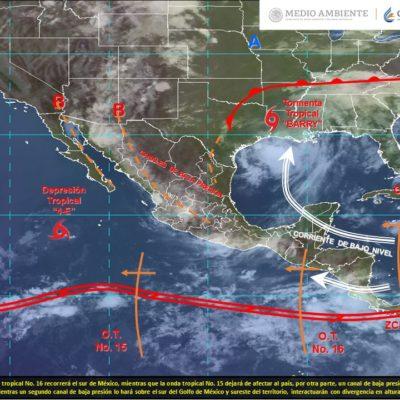 PRONÓSTICO DEL CLIMA: Circulan ondas tropicales en el Caribe, pero no afectarán a Quintana Roo