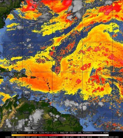 PRONÓSTICO DEL CLIMA: Sensación térmica será cercana a los 45 grados