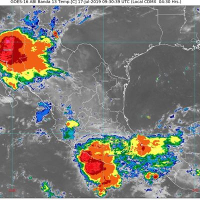 PRONÓSTICO DEL CLIMA: Onda tropical 18 podría generar lluvias en Quintana Roo