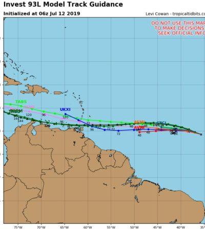 'Barry', a 730 km de Matamoros; se monitorea nueva formación en el Atlántico
