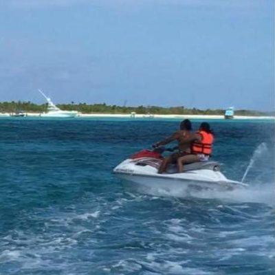 Investigarán uso de motos acuáticas en zona protegida de 'El Cielo' en Cozumel