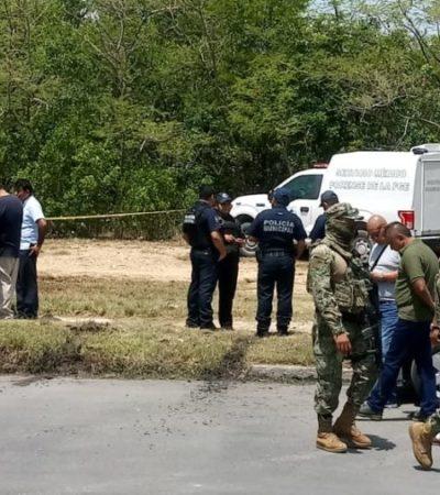 Encuentran cadáver en un desagüe en Chetumal
