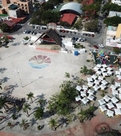 Quieren convertir al parque Las Palapas en un centro turístico y cultural con proyecto de remodelación