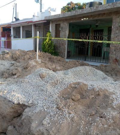 Demandan penalmente a CAPA por daños a casas por impacto de obras en Chetumal