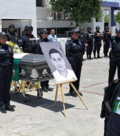 Con la ausencia de Alberto Capella, dan el último adiós a escolta asesinado en Chetumal