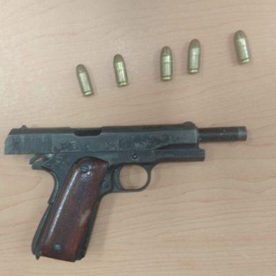 Detienen a hombre armado en sentamiento irregular In House, en Playa del Carmen