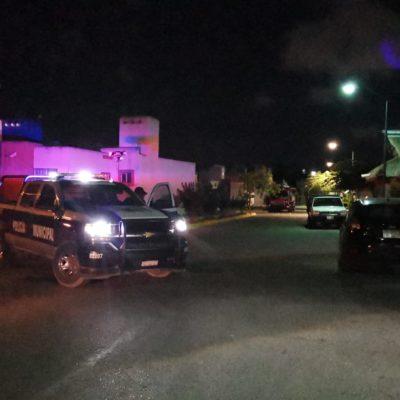 VIOLENCIA EN VILLAS DEL SOL: Suenan disparos cerca de donde hace tres días se asesinó a taxista, en Playa del Carmen