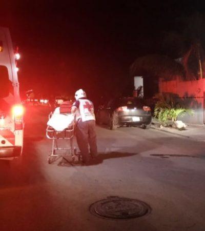 Ejecutan a taxista frente a su casa en el fraccionamiento Villas del Carmen