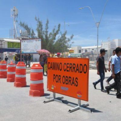 """Por inseguridad, obras en """"El Crucero"""" sólo se realizan durante el día, aceptan autoridades"""