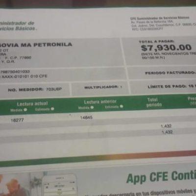 CFE asegura que no hay errores en medidores de José María Morelos tras verificación por altas tarifas