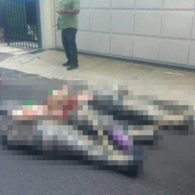 VIOLENCIA EN VERACRUZ: Dejan tres cuerpos embolsados en carretera costera
