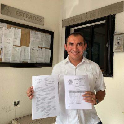 Interpone 'Confianza por Quintana Roo' impugnación contra acuerdo que le quitó diputación de representación proporcional