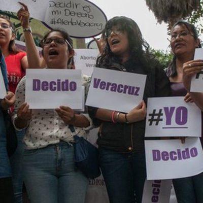 Demandan colectivos legalizar aborto en Veracruz