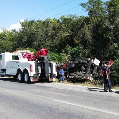 En accidentes en Cancún, costo de grúas no excederá mil pesos