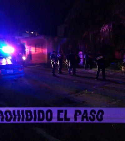 Hieren motociclistas de bala a joven en el fraccionamiento La Guadalupana de Playa del Carmen