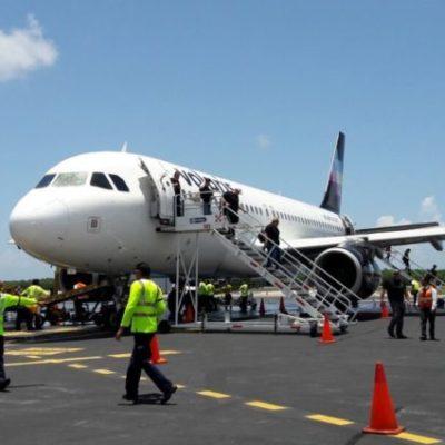 Cancela Volaris vuelo Jalisco-Cozumel; niega CPTQ que sea por falta de promoción