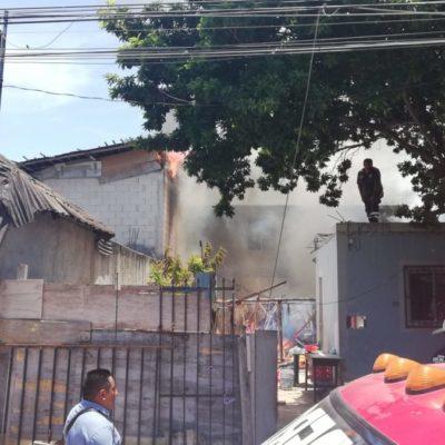 ACTUALIZACIÓN | TRÁGICO INCENDIO EN LA COLOSIO: Confirman la muerte de dos niños en siniestro iniciado en una palapa en Playa