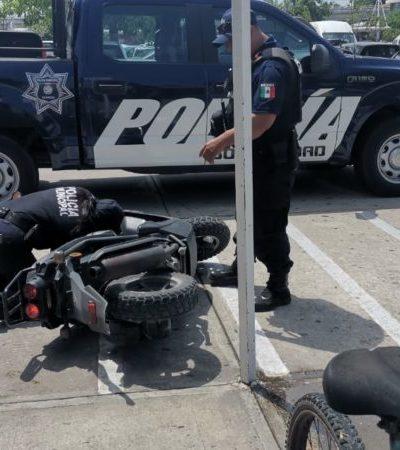 Sujetos armados asaltan Chedraui en Playa del Carmen