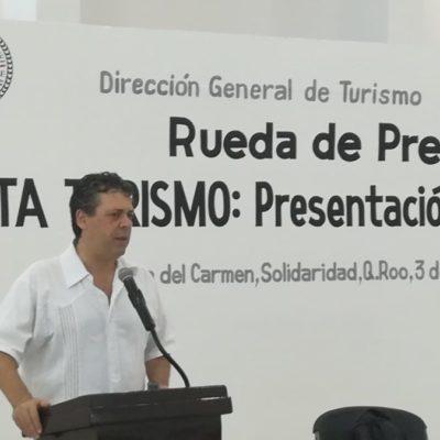 Visitantes de Playa del Carmen aseguran que es un lugar maravilloso y los medios deberían reflejarlo, dice Ernesto Bartolucci