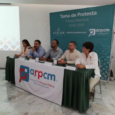 Presentan relacionistas públicos nueva directiva y plan de trabajo en Cancún