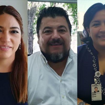 Samaria Angulo, Carlos Guerra y Fabiola Ballesteros admiten que hay nula comunicación y acercamiento con Laura Beristain