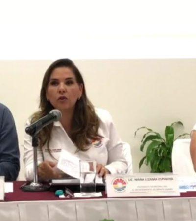 Acepta Mara Lezama que siguen a la espera del presupuesto federal para iniciar obras públicas