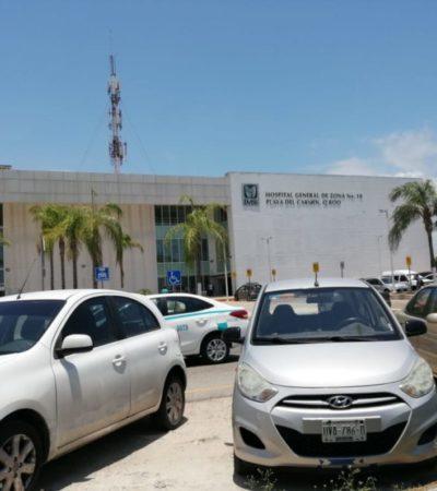 Autoridades realizan conteo de los cajones de estacionamiento público en Playa del Carmen