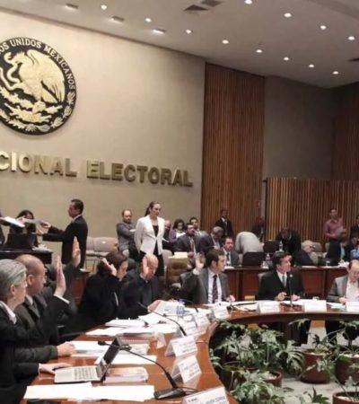 COINCIDEN INE Y MORENA: Plantean recorte del 74% de financiamiento público a partidos