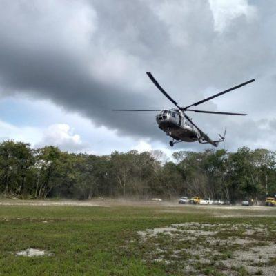 Incendio en Sian Ka'an, controlado en 80 por ciento; acceso a zona arqueológica Muyil disponible, informa Carlos Joaquín