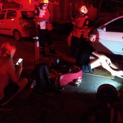 Rescatan a cuatro turistas alemanes de hostal en llamas en Tulum